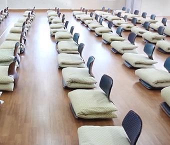 마음수련 메인센터의 전인관 내 강의실