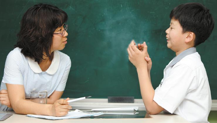 인간관계 부딪힘 사라진 강윤숙 교사와 학생