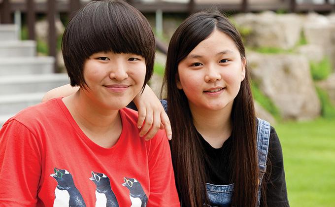 청소년 마음수련 캠프 후 바뀐 두 아이