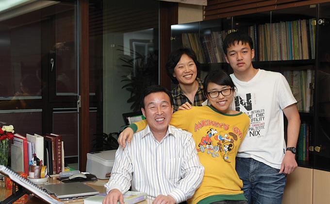 마음수련 하며 화목한 가정 이룬 강영성 씨 가족
