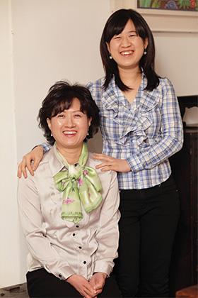 외로움 극복한 엄마와 딸