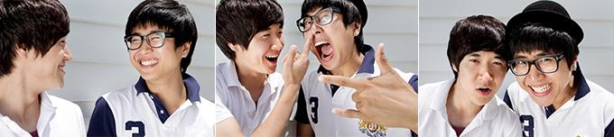 청춘 방황 끝내고 행복한 두 형제 장난치는 모습