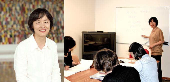 프랑스 한국문화원의 한국어강사 조용희 씨