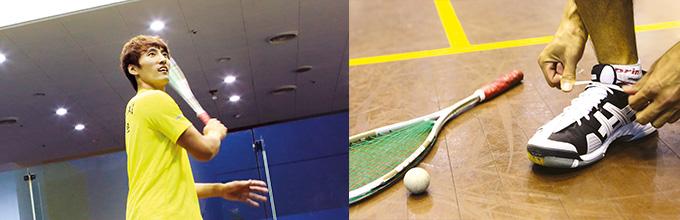 최정운 스쿼시 선수의 스쿼시와 마인드컨트롤