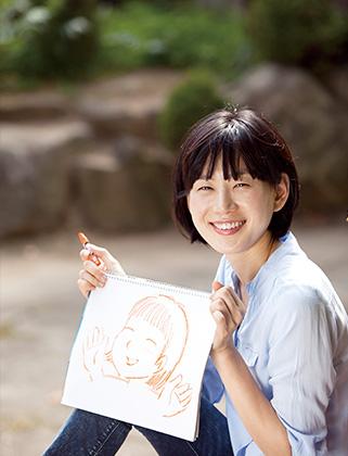 불안, 초조에서 벗어난 김경미 씨의 그림