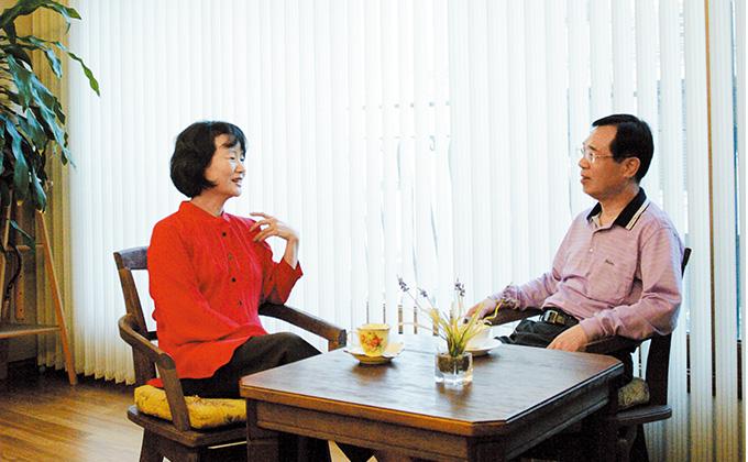 30년 만에 부부간의 대화 하는 부부