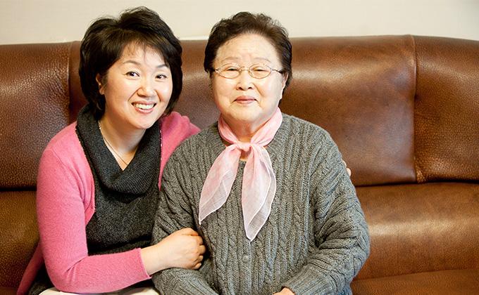 인생의 의문에 해답 찾은 박준옥 씨와 딸