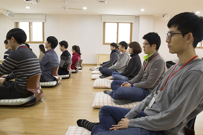 한국증권금융 신입사원 명상