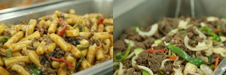 논산 메인센터 맛있는 식당 밥 메뉴