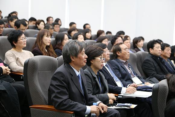 전인교육학회 자유학기제 학술대회 참가자들