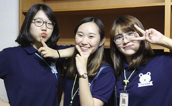 마음수련 대학생캠프 참가자